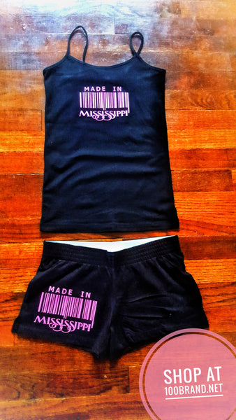 Ladies Tank & Short Set