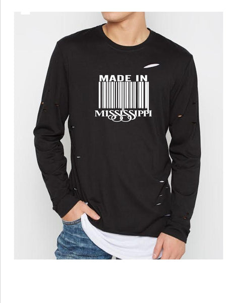 Ripped Long Sleeve (Unisex)