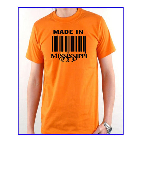 Made In MS tees(Unisex)