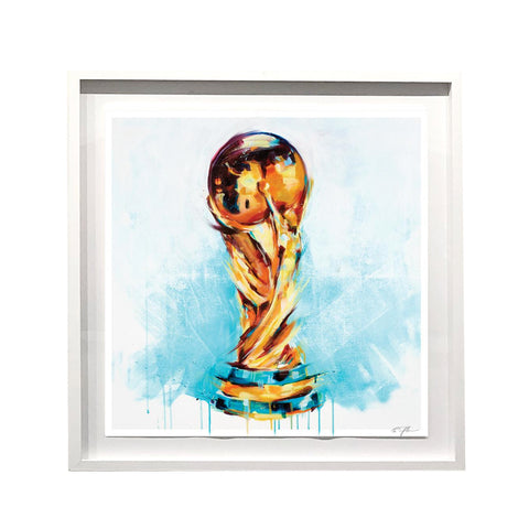 World Cup 2018 Embellished Print