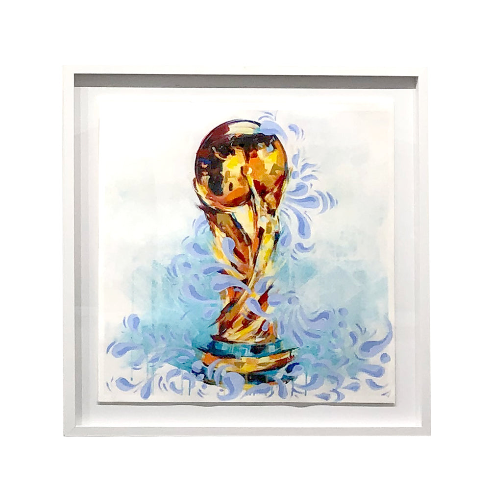 World Cup 2018 Talavera Embellished Print