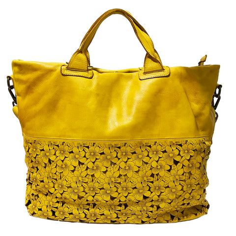 Rina Tote in Yellow