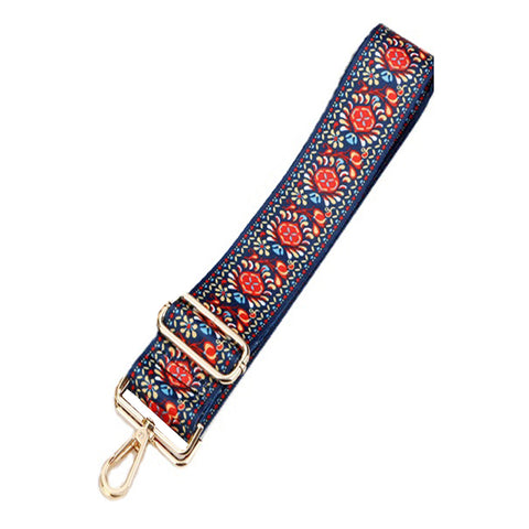 Printed Folklore Floral Shoulder strap