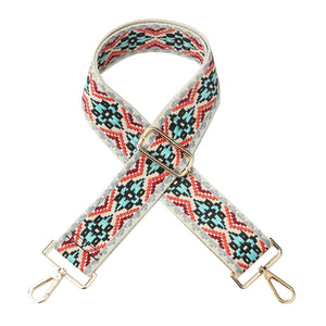 Multi-colored Woven Shoulder Strap