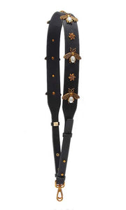 Vegan leather Bee Shoulder strap