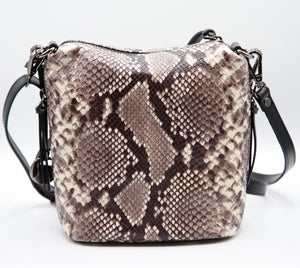 Boss Babe Bucket Crossbody Snake