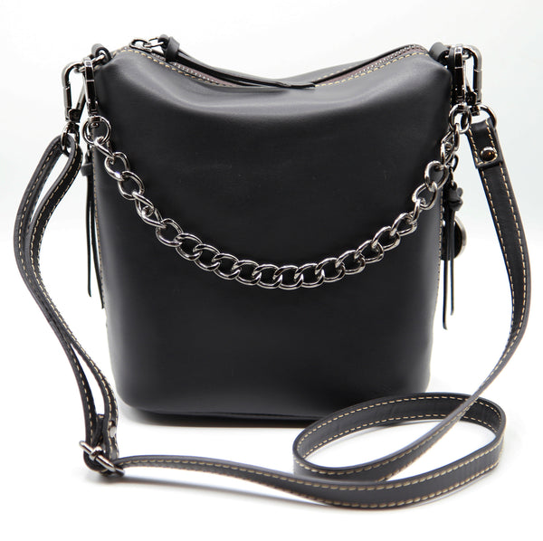Boss Babe Bucket Crossbody Black