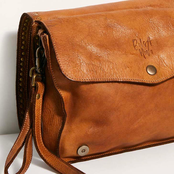 Camilla Messenger Bag Cognac