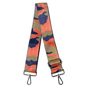 Metallic Camouflage Shoulder strap