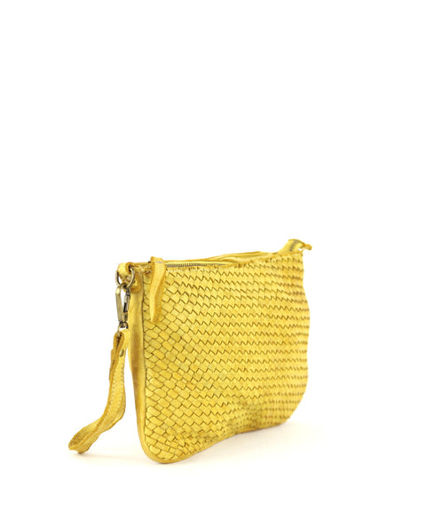 Laura woven crossbody in olive