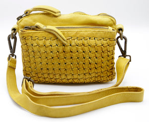 Mara mini wallet bag Yellow