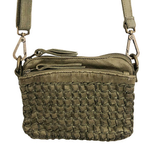 Mara mini wallet bag Olive