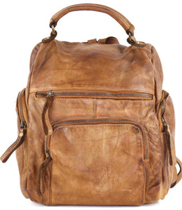 Mia Backpack Cognac