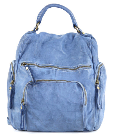 Mia Backpack in Denim
