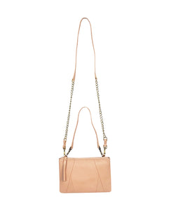 Nicole 3-way crossbody and pouch in Pink