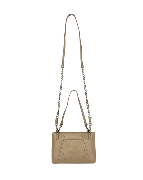 Nicole 3-way crossbody and pouch in Sand