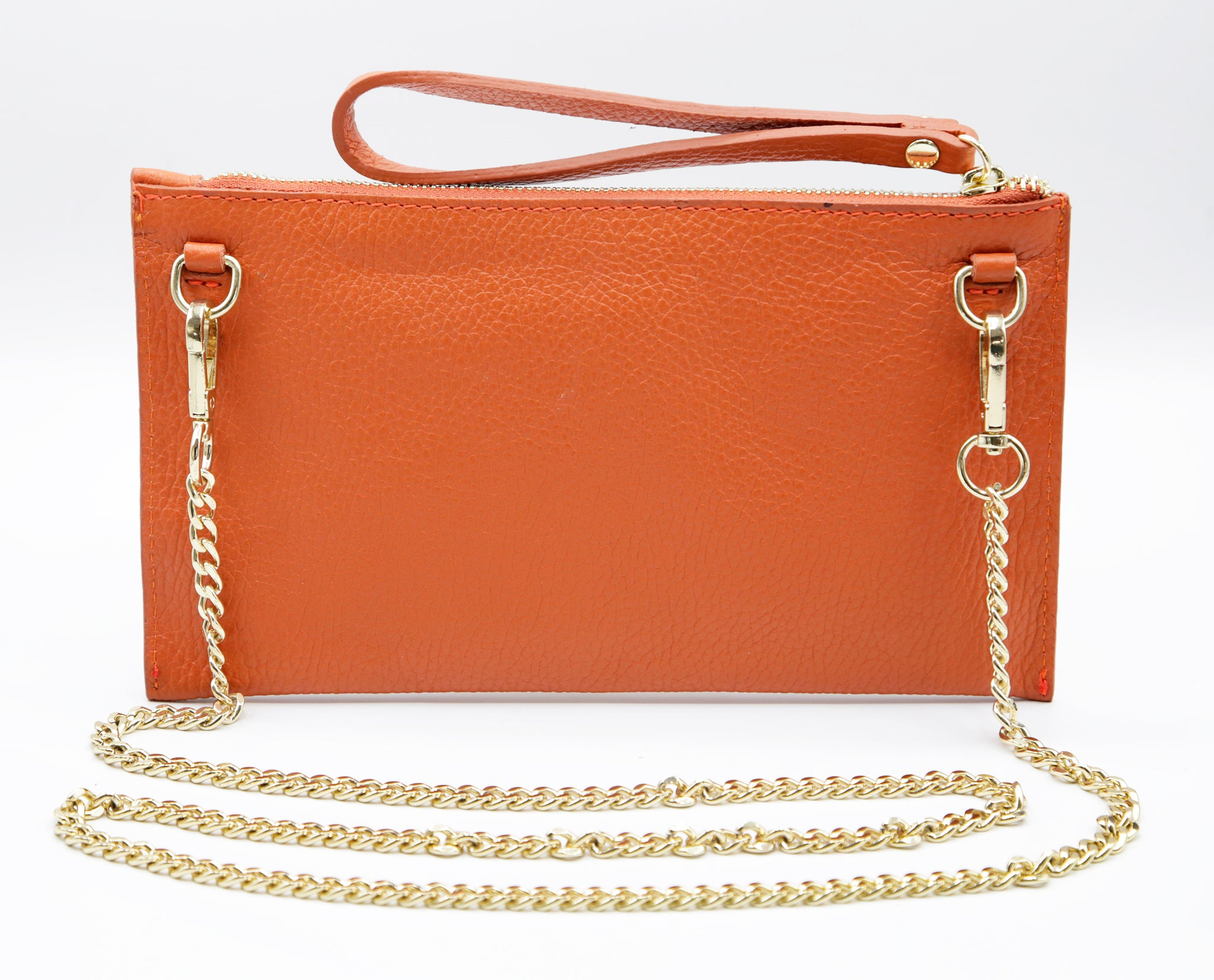 Bianca crossbody pouch orange