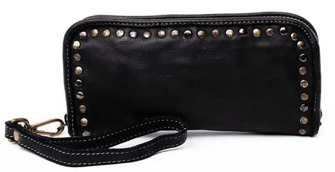 Sofia zip around wallet black