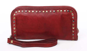 Sofia zip around wallet Bordeaux
