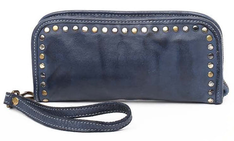 Sofia zip around wallet Navy