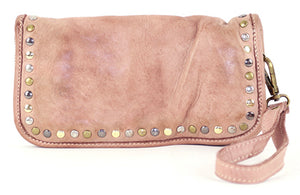 Sofia zip around wallet pink
