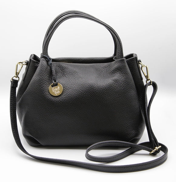 Boss Babe Satchel Crossbody Black