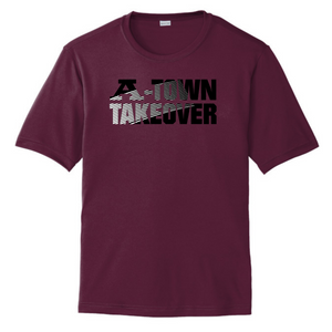 A-Town Takeover Performance Tee (Maroon)