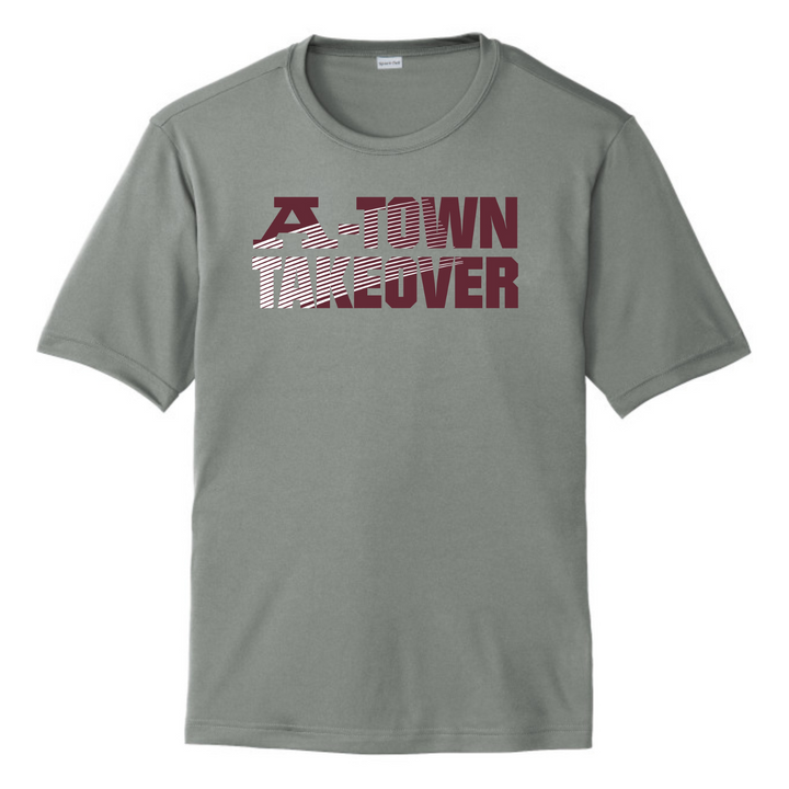 A-Town Takeover Performance Tee (Gray)