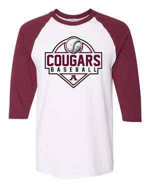 Raglan Three-Quarter Sleeve T-Shirt
