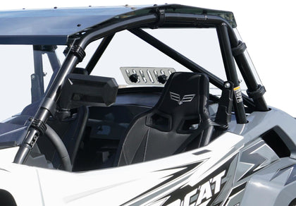 SPIKE REAR WINDSHIELD W/VENT TEX 77-1200V-R