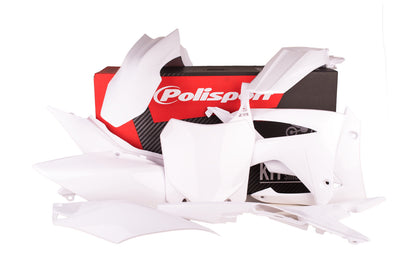 POLISPORT PLASTIC BODY KIT WHITE 90561