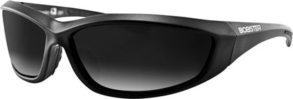 BOBSTER CHARGER SUNGLASSES BLACK W/SMOKE LENS ECHA001