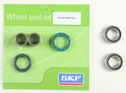 SKF WHEEL SEAL KIT W/BEARINGS FRONT WSB-KIT-F019-HO