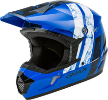 Load image into Gallery viewer, MX-46 OFF-ROAD DOMINANT HELMET BLUE/BLACK/WHITE XL-atv motorcycle utv parts accessories gear helmets jackets gloves pantsAll Terrain Depot