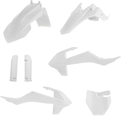 ACERBIS FULL PLASTIC KIT WHITE 2791520002
