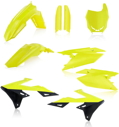 ACERBIS FULL PLASTIC KIT FLUORESCENT YELLOW 2686554310