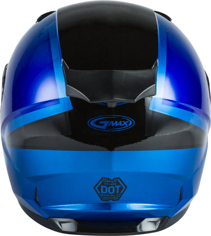 GMAX FF-49S FULL-FACE HAIL SNOW HELMET BLUE/BLACK 3X G2495049