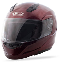 GMAX MD-04 MODULAR HELMET WINE RED XS G104103