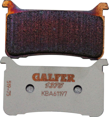 GALFER BRAKE PADS SINTERED CERAMIC FD519G1375 FD519G1375