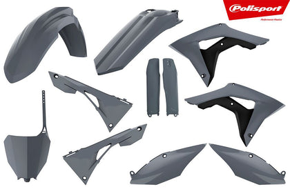 POLISPORT PLASTIC BODY KIT NARDO GREY 90827