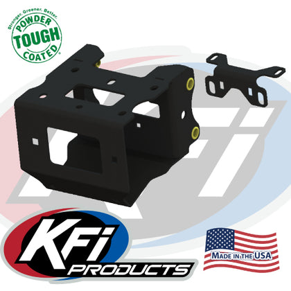 Polaris Scrambler 1000 2014-18 Winch and Mount Kit KFI A2500 - Allterraindepot