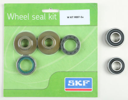 SKF WHEEL SEAL KIT W/BEARINGS REAR WSB-KIT-R007-SU