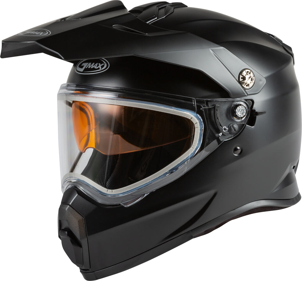 AT-21S ADVENTURE SNOW HELMET MATTE BLACK 2X-atv motorcycle utv parts accessories gear helmets jackets gloves pantsAll Terrain Depot