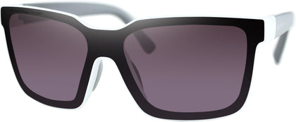 BOBSTER BOOST SUNGLASSES WHITE W/GREY/PURPLE/SLVR MIR BBST002H