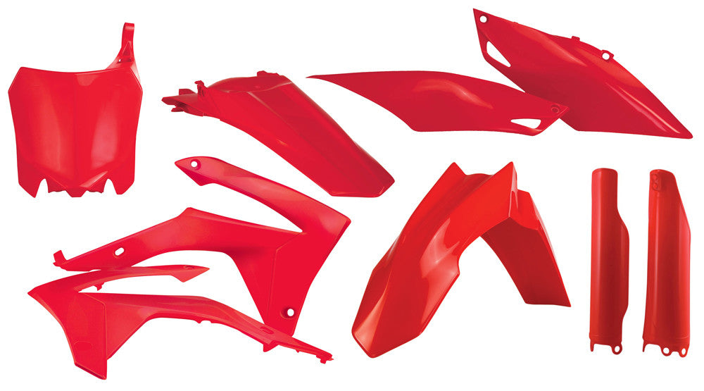 ACERBIS FULL PLASTIC KIT RED 2314410227-atv motorcycle utv parts accessories gear helmets jackets gloves pantsAll Terrain Depot