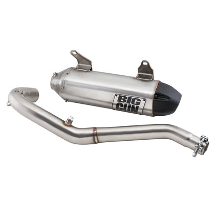 Big Gun EXO Stainless Slip On Exhaust– Honda RINCON 680 (15-19)