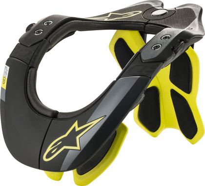 ALPINESTARS BIONIC NECK SUPPORT BLACK/YELLOW XS-MD 6500019-155-XS/M