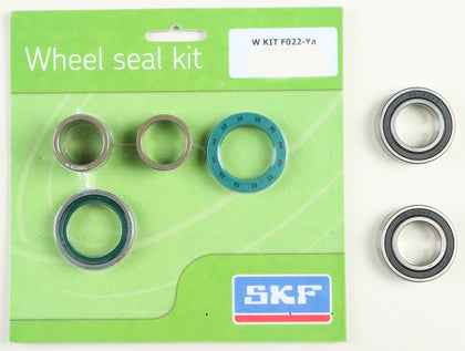 SKF WHEEL SEAL KIT W/BEARINGS FRONT WSB-KIT-F022-YA