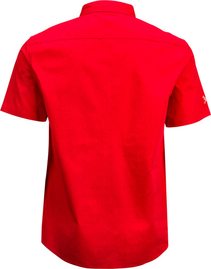 FLY RACING FLY PIT SHIRT RED SM RED SM 352-6215S
