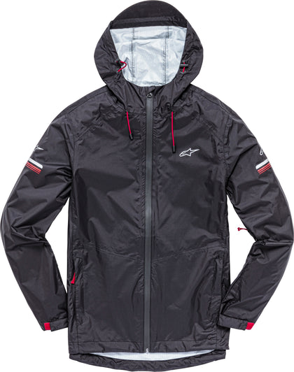 ALPINESTARS RESIST II RAIN JACKET BLACK LG 1139-11230-10-L